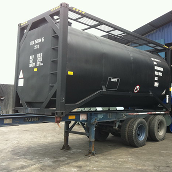 20' HC Bitumen Tank on skeleton