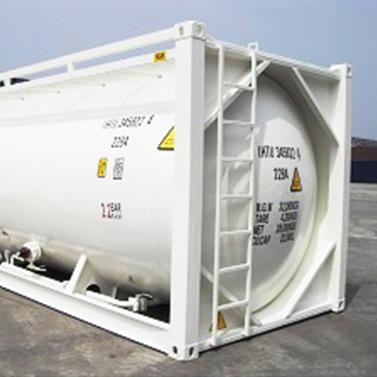 danteco 20' iso bulk cement tank container
